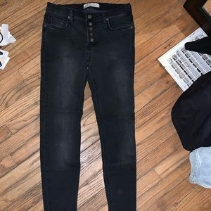 Free People black jeans